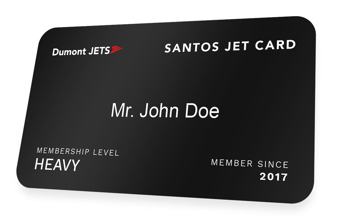 Santos Jet Card